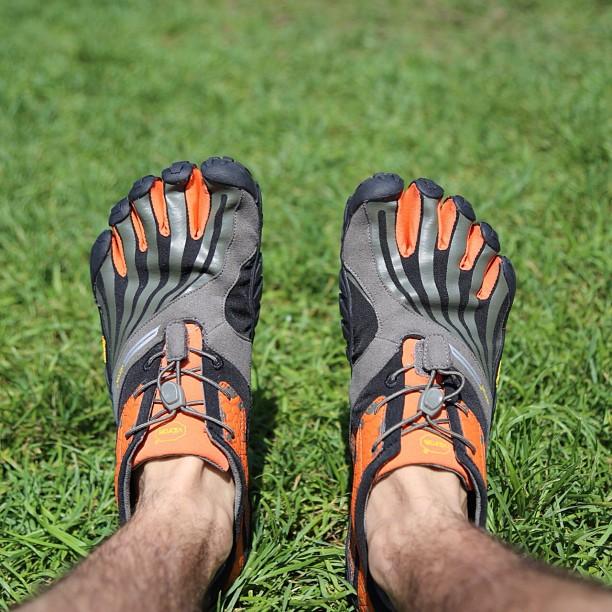 Vibram Fivefingers barefoot