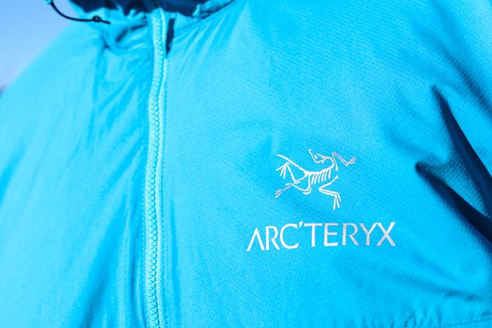 Estrenant la nova jaqueta Arc'teryx Atom SL Hoody