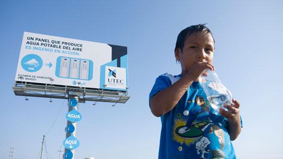 Publicitat ecològica a Perú