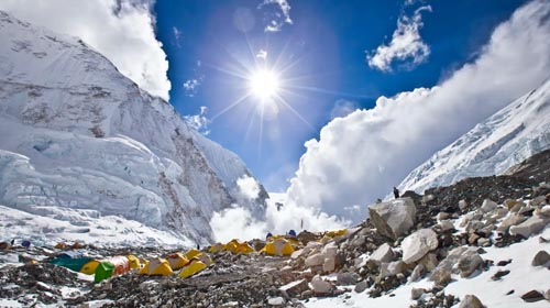 Camp Base de l'Everest