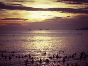 ipanema sunset rio de janeiro