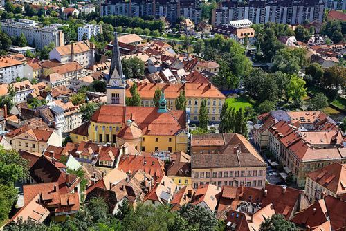 Ljubljana, capital d'Eslovènia