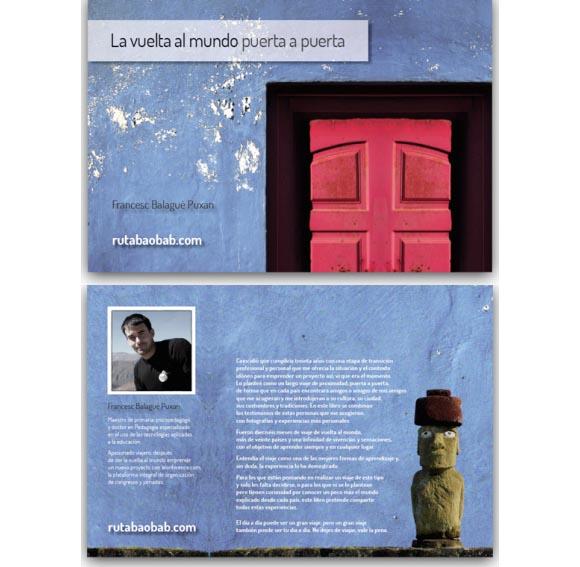 """Descàrrega gratuïta del llibre """"La vuelta al mundo puerta a puerta"""""""