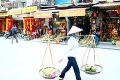 Arribada a Hanoi